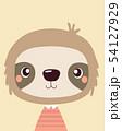 Cute sloth. 54127929