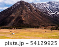 incredible scenery of the mountain valleys of the Altai mountains with cliffs and snow-capped peaks 54129925