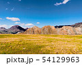 incredible landscape of Altai mountain valley with rock 54129963