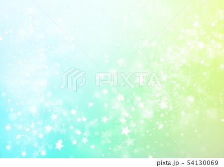 イエローブルー色星キラキライメージ 54130069