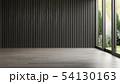 Interior empty room 3D rendering 54130163