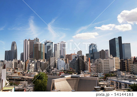 新宿高層ビル群(大久保より) 54144163