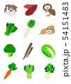 秋冬野菜  Vegetables 54151483