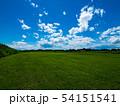 青空と草原 54151541