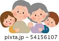 祖父母と孫 54156107