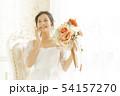 ブライダル 花嫁 ウエディングの写真 54157270