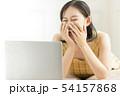 女性 アジア人 大学生の写真 54157868