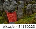 赤布を掛けられた地蔵 複数 54160223