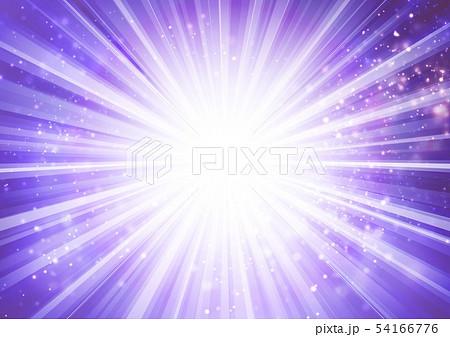 紫色キラキライメージ放射状 54166776