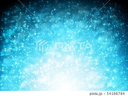 青色キラキライメージ 54166784