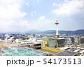 京都タワー 青空 54173513