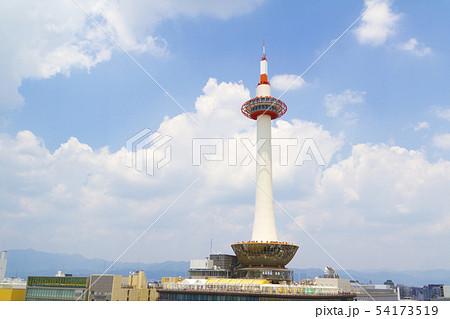 京都タワー 青空 54173519