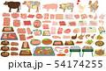 お肉のセット 54174255