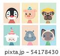 Animal posters for nursery. 54178430