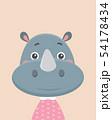 Cute rhinoceros. 54178434