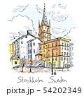 Riddarholmen in Stockholm, Sweden 54202349