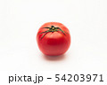 Red big fresh tomato on a white background 54203971