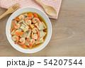 stir fried king oyster mushroom with shrimp. 54207544