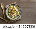 fried rice with vietnamese pork sausage. 54207559