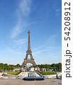 パリ エッフェル塔 54208912