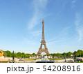パリ エッフェル塔 54208916