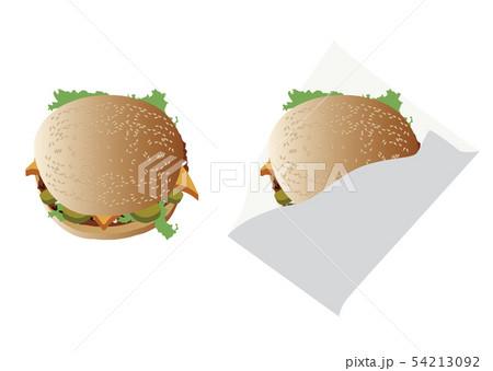 ハンバーガー 54213092
