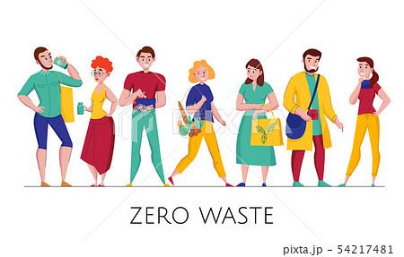 Zero Waste People Set  54217481