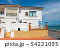 white buildings on the coast of costa del sol in 54221055
