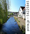 street with old houses in historic city of Kaufungen, Germany 54225845