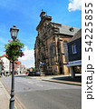 street in historic city center of Bukeburg, Germany 54225855