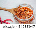 Pork crackling chili paste with the ingredient. 54235947