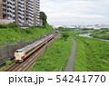 横浜線 189系 鶴見川沿いを行く 54241770