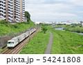 横浜線 185系 鶴見川沿いを行く 54241808