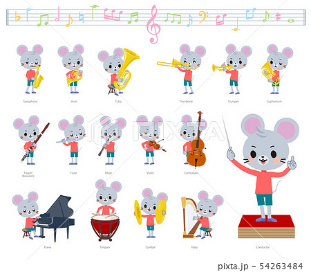 animal mouse boy_classic music 54263484