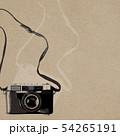背景-カメラ-レトロ-紙 54265191