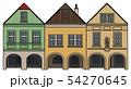 Three historical burger houses 54270645