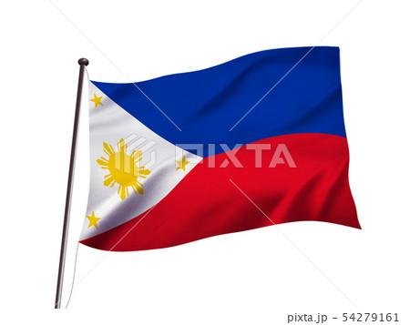 フィリピンの旗イメージ 54279161