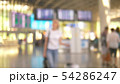 blurred background. people at the airport, passenger flight concept 54286247