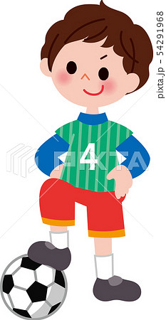 サッカー少年 54291968