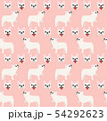 French bulldog in action,seamless pattern 54292623