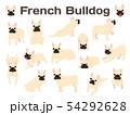 French bulldog in action,happy dog 54292628