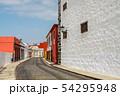 Street of Garachico Town on Tenerife Island, 54295948