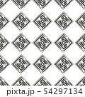 Geometric seamless pattern design 54297134