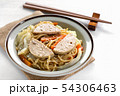 japanese noodles with vietnamese pork sausage 54306463