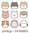 アイコン-動物集 54308891
