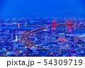 高塔山公園から見る新日本三大夜景【福岡県】 54309719