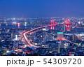 高塔山公園から見る新日本三大夜景【福岡県】 54309720