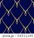 Golden wire seamless oriental scales pattern 54311145