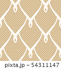 Lacy seamless oriental scales pattern 54311147