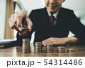 お金 通貨 金の写真 54314486